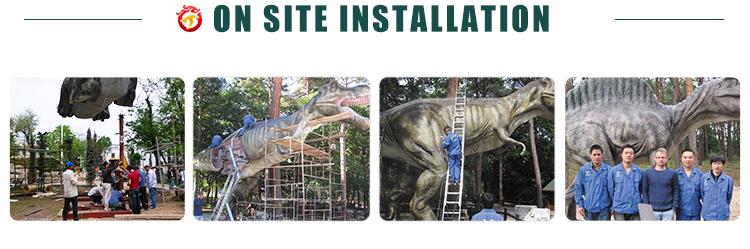 Wandelen Met Dinosaurus Kostuum Voor Show Dinosaurus Mascotte Kostuum