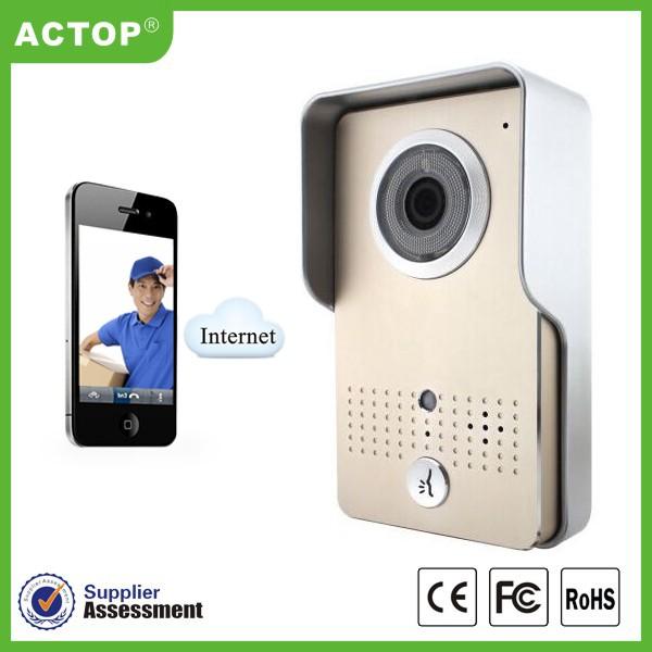 Draadloze Deurbel Camera Smart Telefoon Wifi Deurbel