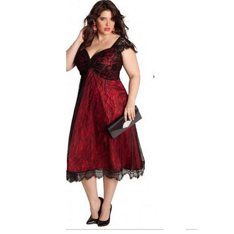 Plus Size Tea Length Semi Formal Dresses – Fashion dresses