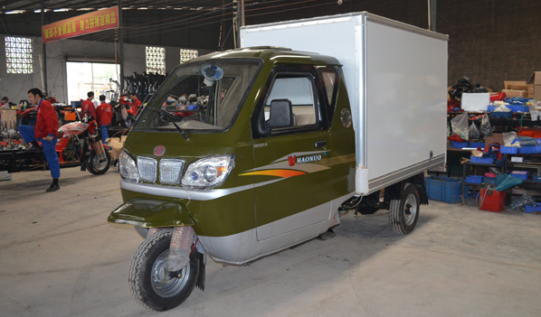 Chongqing Manufactor High Quality with Side door 3 Wheel Motorcycle Advertising Tricycle for Sale