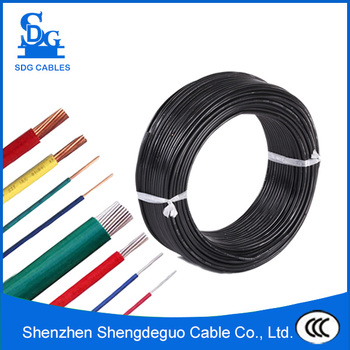 450/750v Low Voltage Single Core Copper Power Supply Wire Colors ...