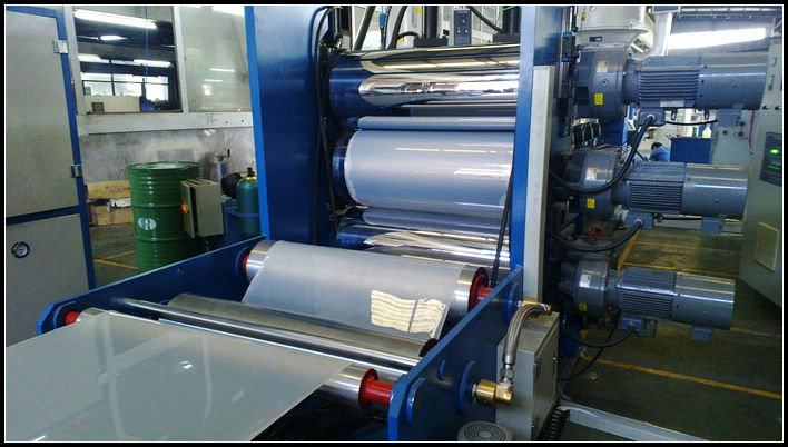 PP AND PS HSJP-100A Plastic Sheet Extrusion Line