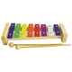 cheap child baby musical instruments Colorful 8 notes wood bar professional wooden xylophone toy factory for kids