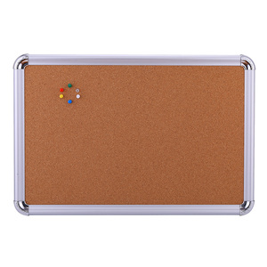 cheap price wholesale standard size hotel school office home decoration bulletin message cork notice board with aluminum frame