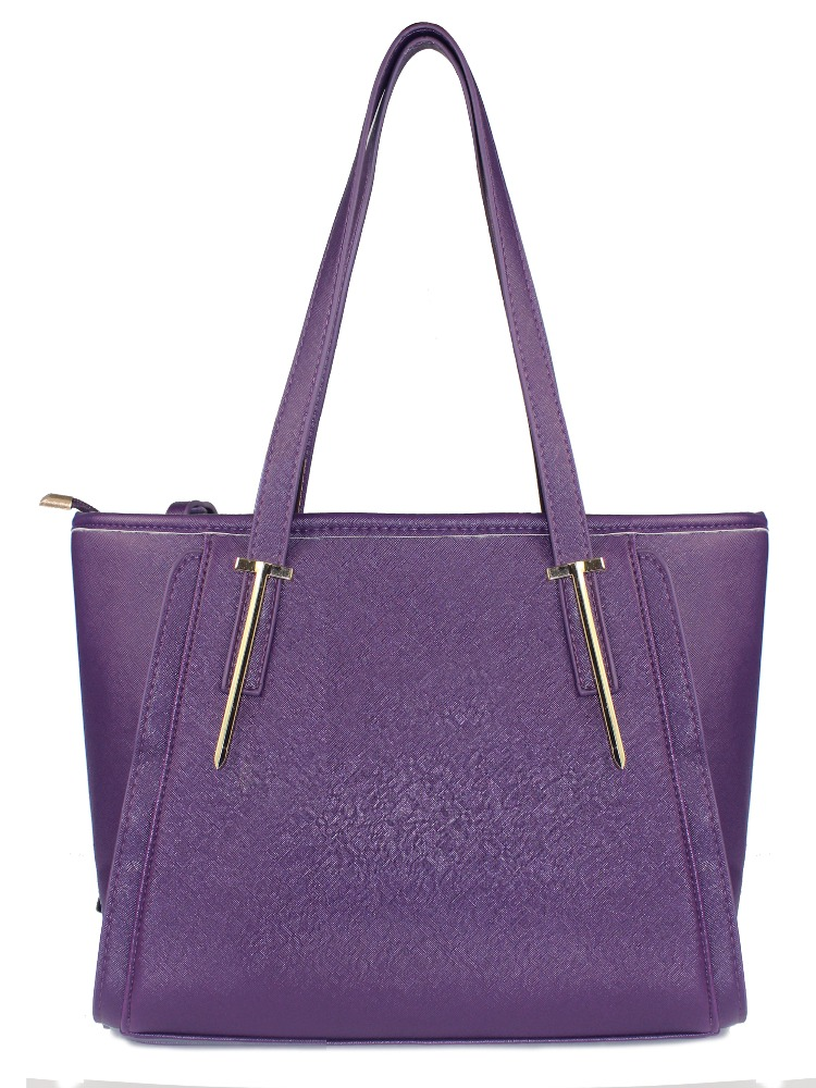 2017 purple lady bags pu leather hand bags wholesale handbags malaysia