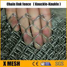 security 9 gauge chain link fence with round galvanized post