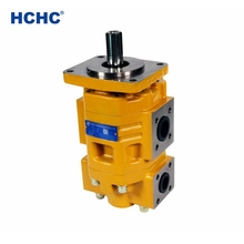 hydraulic pump exporter of China hydraulic double gear pump CBGNL for sale