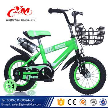 Alibaba Vendita Calda Bmx Biciclette Per Bambini 3 Anni Di Età12 Pollice Ragazzo Bicicletta Con Cestinobeautiful Green Bambino Bicicle Bicicletta 4