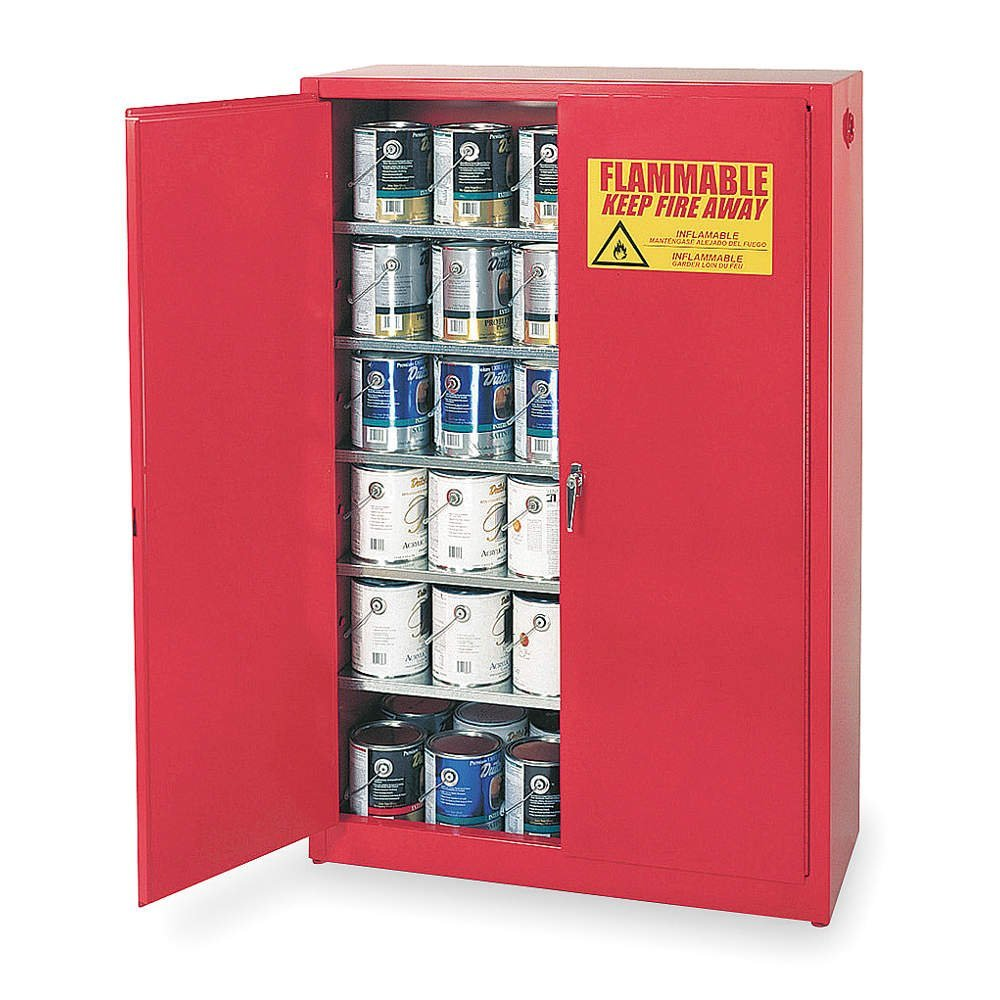 Eagle PI-47 Paint and Ink Safety Cabinet, Manual-latching, 60 gallon