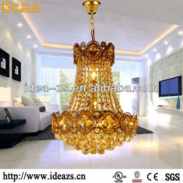 C9126 silver chain chandelier ,crystal led light stand