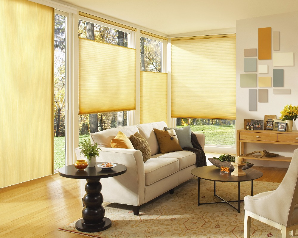 Hottest sales high quality Manual & Motorized Honey comb roller fabric blinds cellular shade window for home hotal hospital