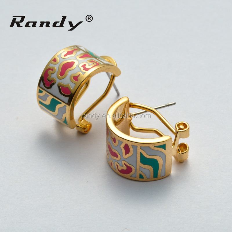 Indian Enamel Jewellery Earring Designs Whole Earrings In China