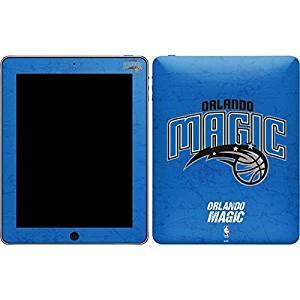 NBA Orlando Magic iPad Skin - Orlando Magic Blue Primary Logo Vinyl Decal Skin For Your iPad