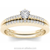 Factory direct sales rich diamonds heavy design white gold ring white zircon engagement rings semi mount diamond ring