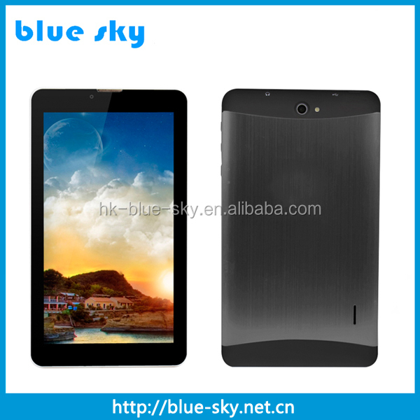 Factory price 3G SIM phone call 7 inch wifi android tablet pc with MTK6572 Dual Core