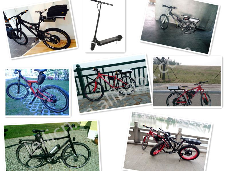 35kph speed,ce brushless gearless 36v ebike kit for 500w electric bicycle