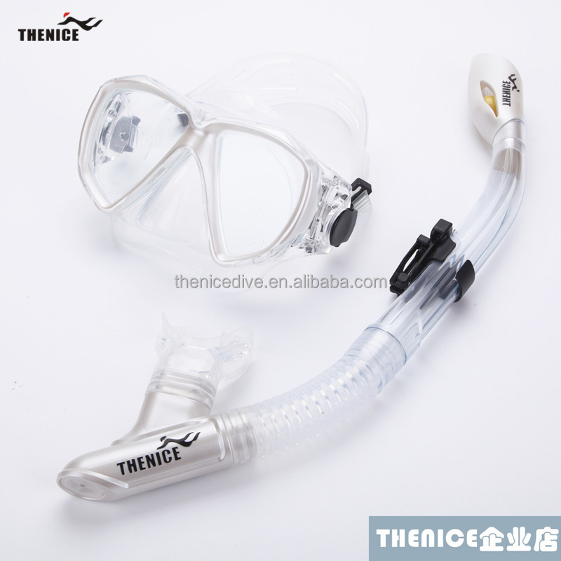 High quality silicone snorkeling mask snorkel equipment