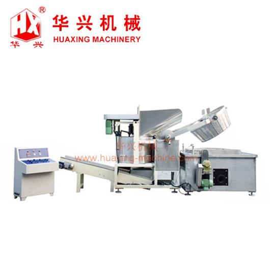 high capacity plantain chips frying machine