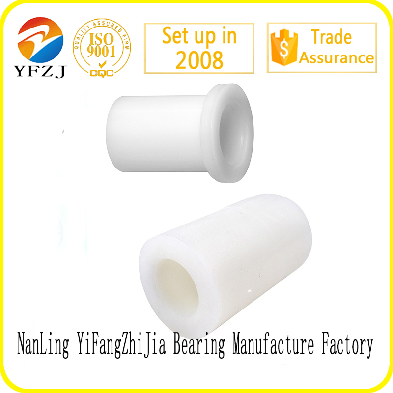 low friction nylon/ptfe plastic bushing/plastic sleeve bearing