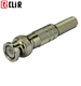 F Male RG59 2 Pin Cable Coaxial RG6 CCTV BNC Connector