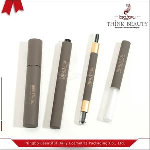 High Quality gray 11ml/3ml/3.5ml mascara/lip gloss/double head bottle/container/case/tubes