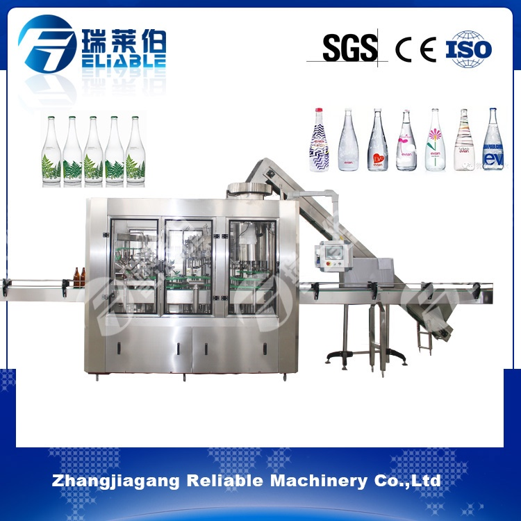 Full automatic alcohol beverage economy linear type beer filling line with long-term service