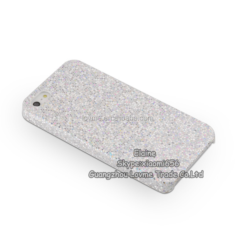 SPARKLING GLITTER CELL PHONE CASE COVER FOR IPHONE5/5S