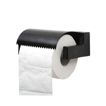 New design hardware wc bathroom toilet tissue wall mounted plastic manual hand paper roll towel dispenser