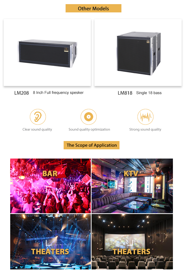 2018 Alibaba New Design Affordable Bass Horizontal Line Array Speakers  System - Buy Horizontal Array Speakers,Line Array Bass,Affordable Line  Array