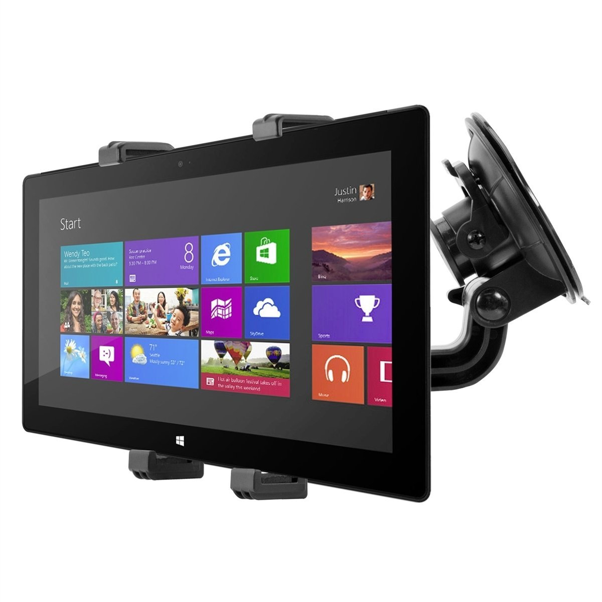 Buy Kwmobile Windshield Car Mount For Microsoft Surface Pro Car