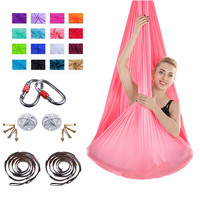 Air flying high-strength soft antigravity aerial yoga hammock