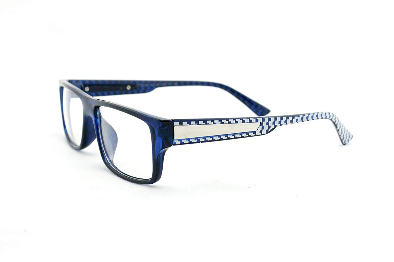 Newbee Fashion - Casual Simple Squared Durable Frames Design Clear Eye Glasses Geek