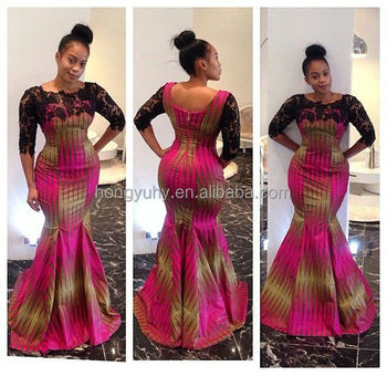 Ch301 Glamorous And Stylish African Dress Lace Pattern And Ankara Print Wedding Guest Dresses Buy Ankara Print Style Dress Sexy African Printed