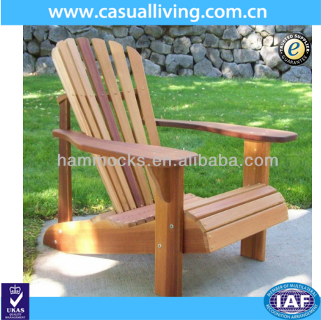 Patio Beach Chairs Natural Color Wood Adirondack Chairs