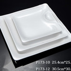 Customized 100% Melamine plates wholesale porcelain 10 inch plate white hot sale