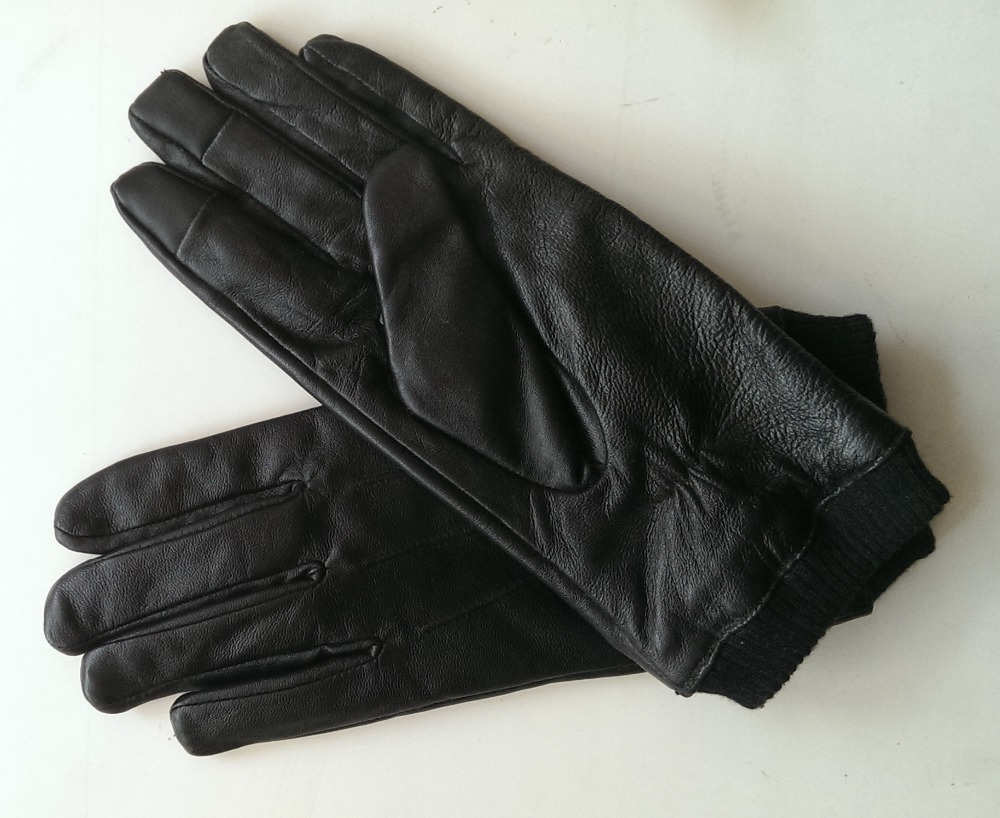 Mens gloves fashion - Fashion Magic Touch Screen Gloves Men S Lamb Leather Gloves Touch Gloves For Men