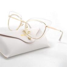 Новые квадратный Cat женские очки прозрачные дизайнерские очки Винтаж ясно оптическая рамка для очков UV400 FML(Китай)