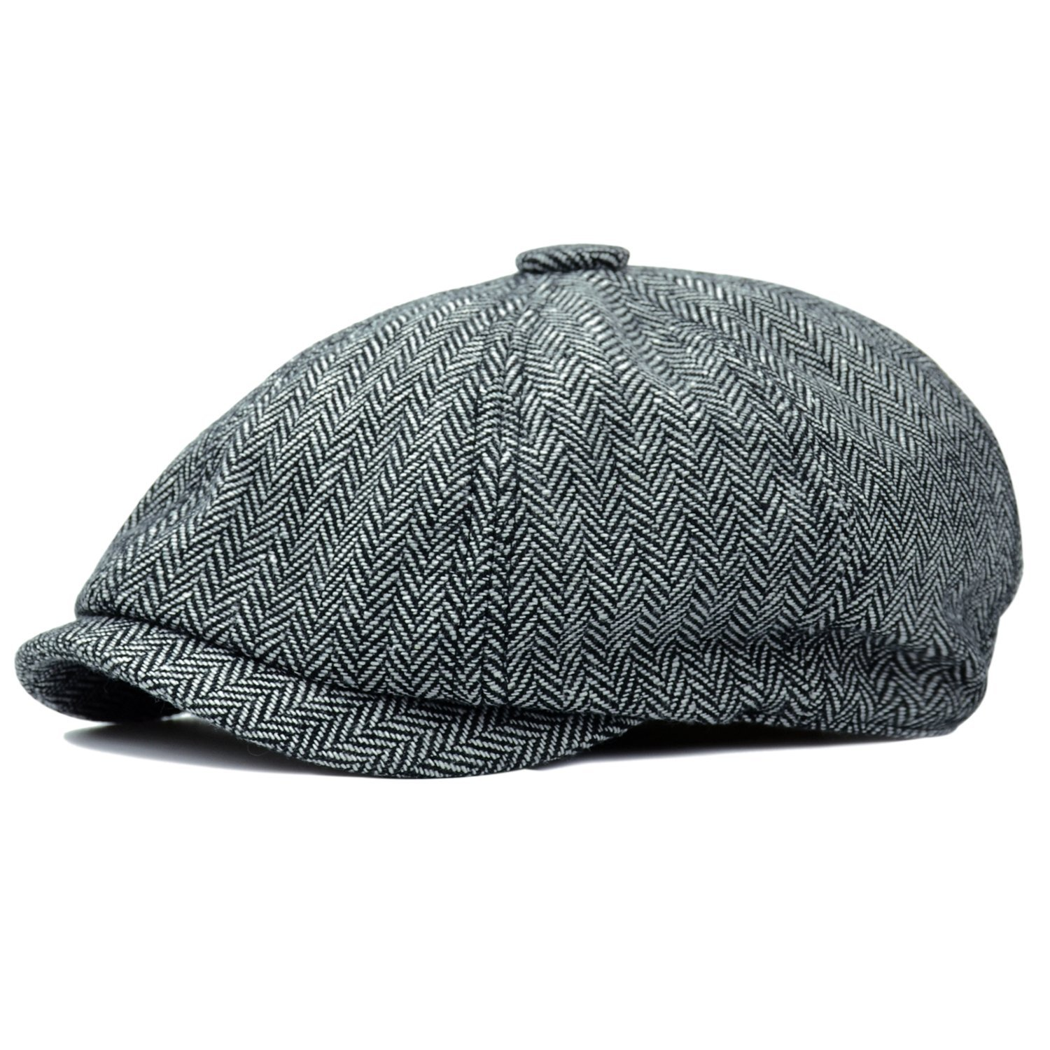 b1dd72fee Cheap Herringbone Tweed Fabric 5 Panels Hat Caps, find Herringbone ...