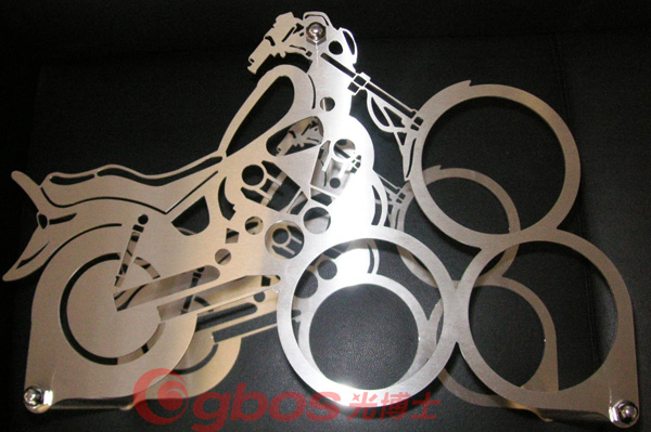 Sheet Metal Art Laser Cutting Machine Co2 For Gbos