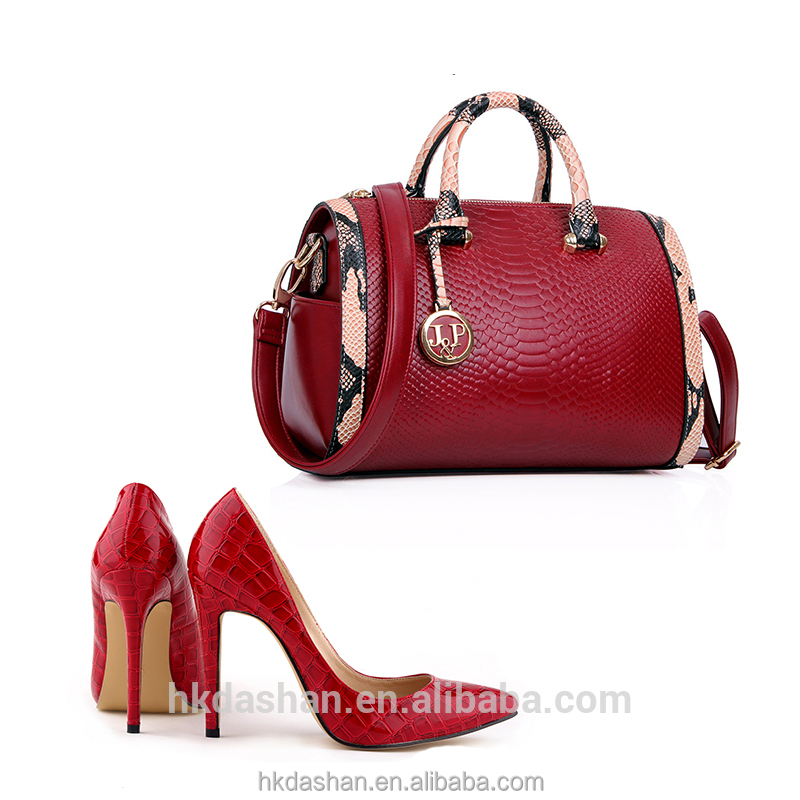 Y71 Top Sale African Shoes and Matching Handbag for Party Made in China Factory
