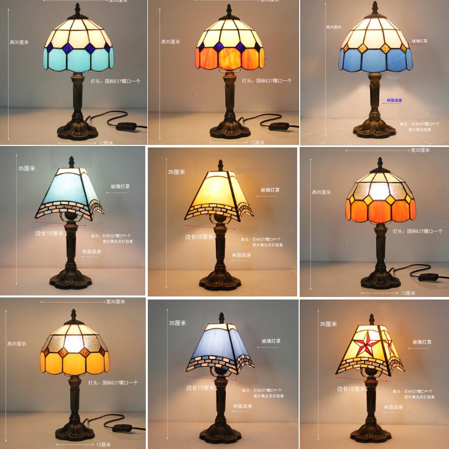 2020 factory price contemporary tifany flower lamps tiffany table lamp for living room wholesale