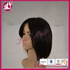 New Synthetic Hair Heat Resistant Womens Black Straight Bob Lace Wigs Glueless Cosplay Wig Short Wig