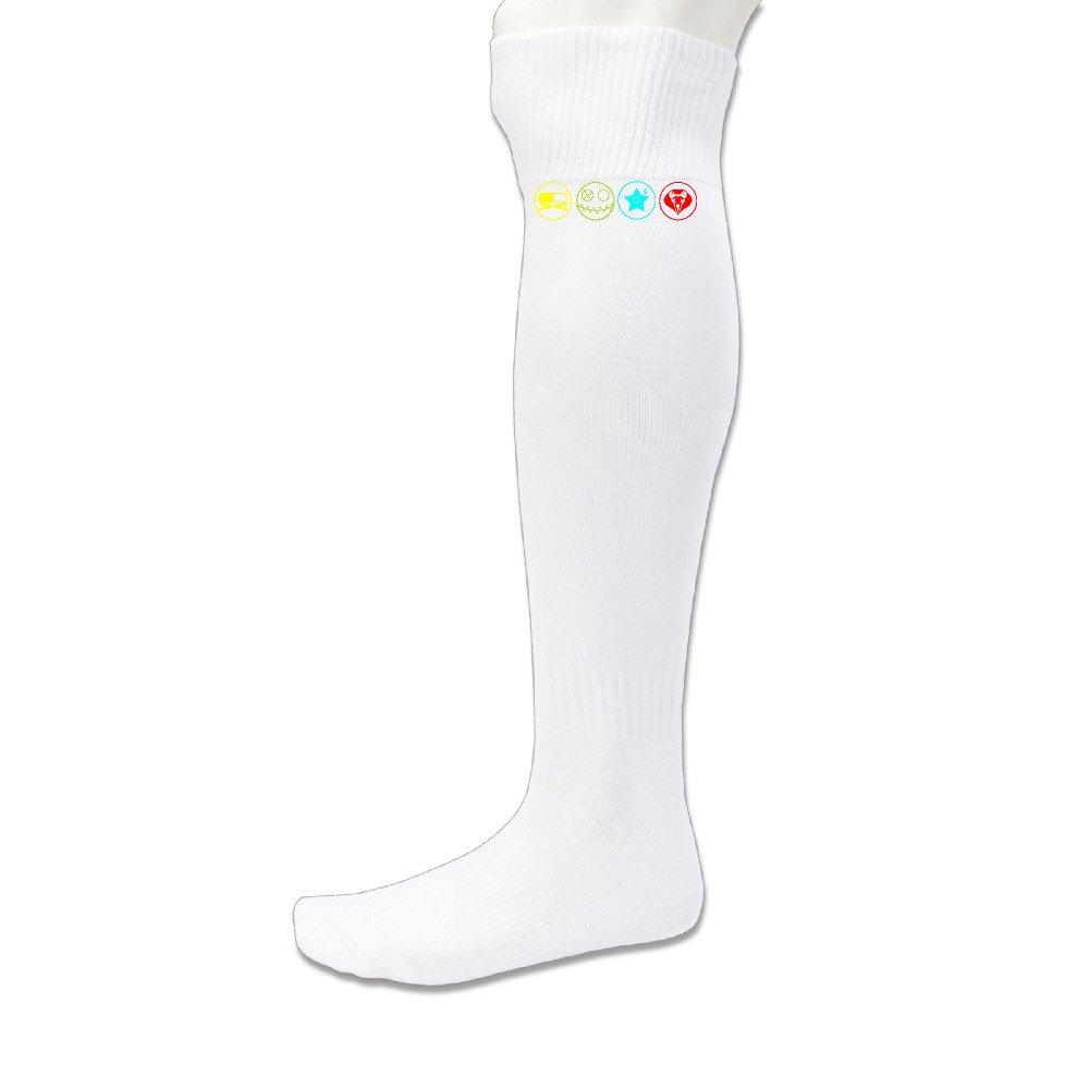101Dog Casual Wear MCR Killjoy Logos Athletic Compression Socks Black