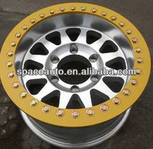 Newest product 16 inch alloy rims with various size