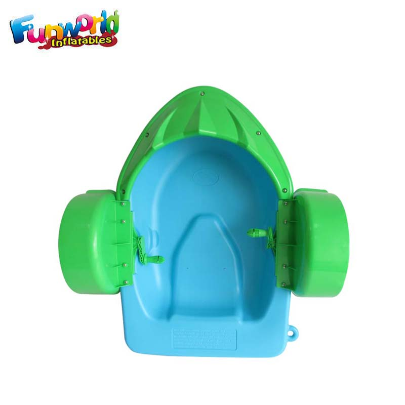 Hot popular paddle boat for kids amusement park water hand boat price
