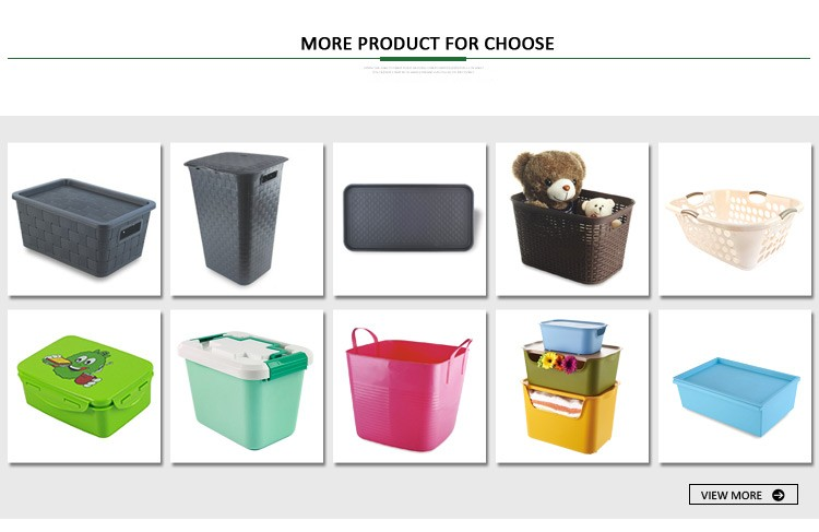 Storage red multipurpose plastic storage bucket