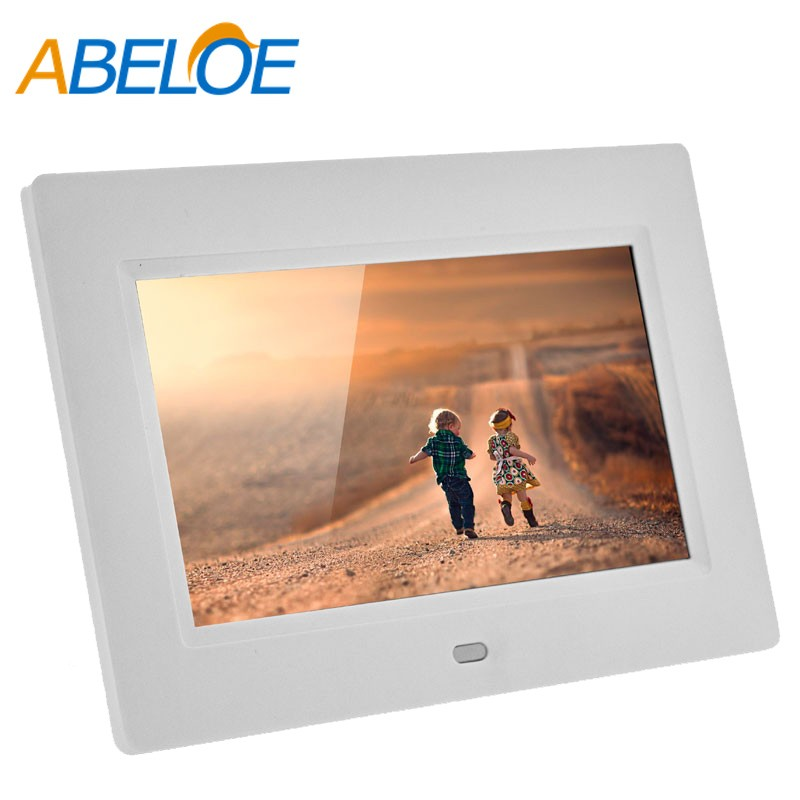 7 Inch Slim Lcd Digital Photo Frame Slide Show 800x480 Digital Frame