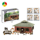 New Item Zoo Animal Farm Set Toy With House