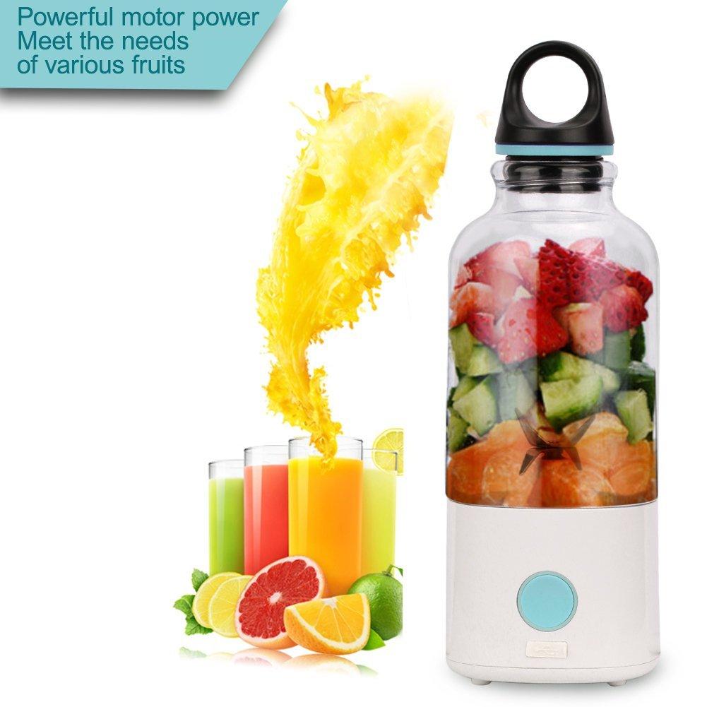 2018 Home Electric Juicer Blender Portable Cup Mini Rechargeable Juicer Bottle Plastic Automatic & Safe