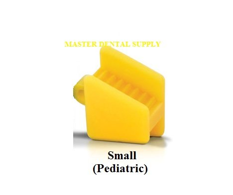Dental Silicone Mouth Prop Bite Block 2 Pcs SMALL Color Coded Autoclavable LATEX FREE